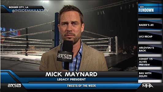 Mick Maynard LK2