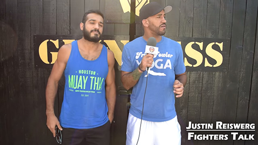 Justin Reiswerg Fighters Talk