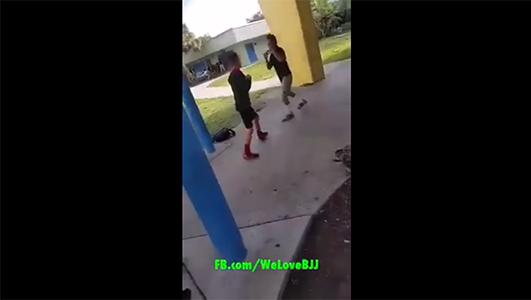 Bully Gets Jiu-Jitsu'd