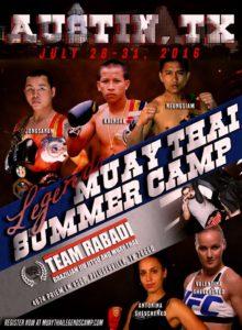 2016 Muay Thai Legends Camp Update