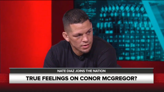 Nate Diaz on Sports Nation