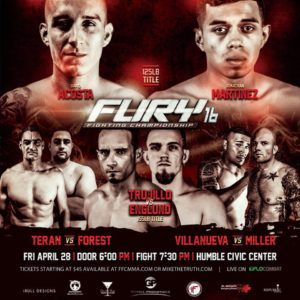 Fury FC 16 Poster