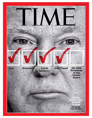 Photo: Donald Trump Featured On Upcoming TIME Magazine ...