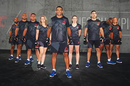 bffb2686d5 UFC Reveals Reebok Uniforms