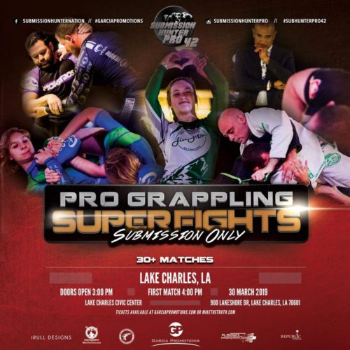 Submission Hunter Pro 42 Grappling Card (Mar  30, 2019